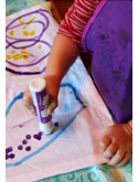 Toddler Art Napkins